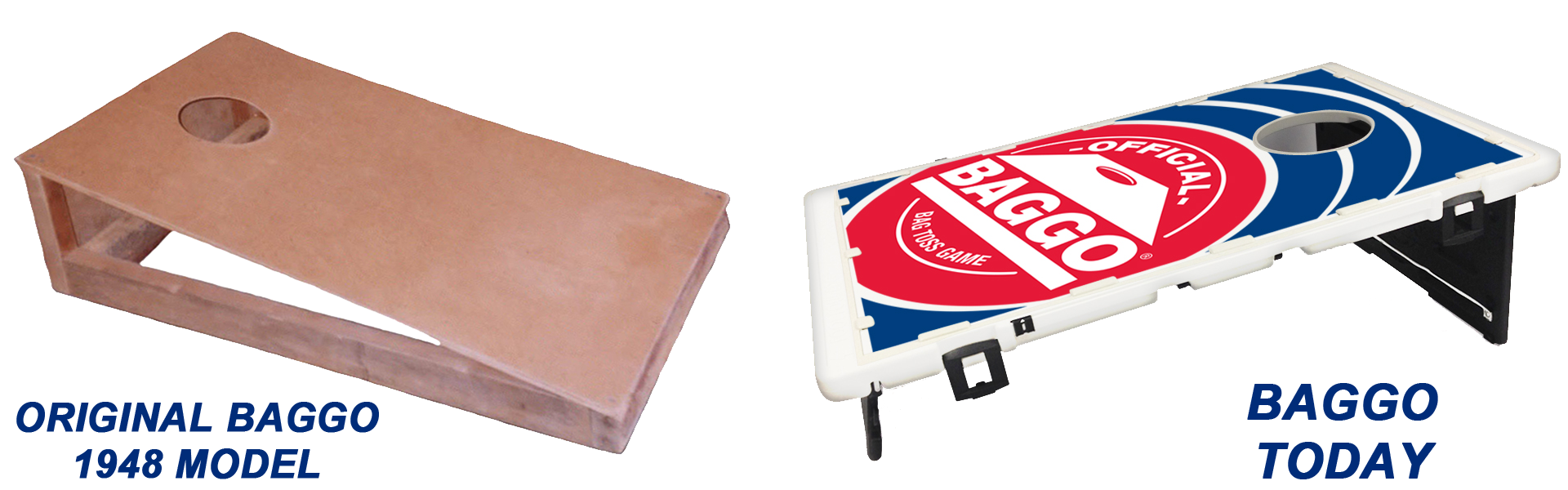 Original Baggo Game (1948 Model) vs. Baggo Today